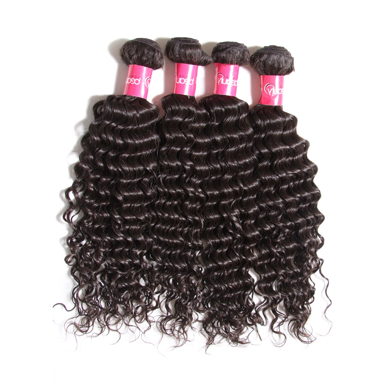 100% Virgin Raw Cheap Wholesale High Quality Deep Wave Brazilian Human Hair Weave