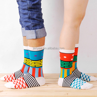 Custom wholesale women's cotton sock without spandex