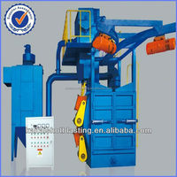 Hook shot blasting machine for cast iron