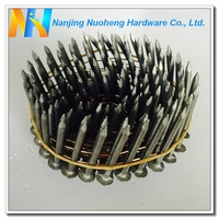 "15/16 Degree Smooth Shank HDG Roofing Coil Nail 3.05*38/0.12""*1-1/2"""