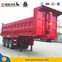 2017 hot sales dump trailer and tipper truck by Yangjia