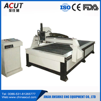 High quality CNC plasma cutting machine sd1325 with 45A Hyper plasma power HIWIN square orbit Stepper