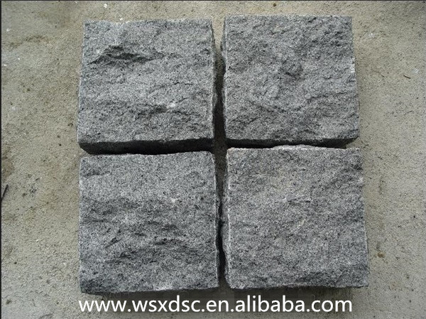 G654 black granite paving stone,granite paver,granite paving slabs