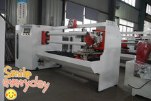 automatic high efficiency double shaft medical tape/bopp tape/various adhesive tape cutting machine