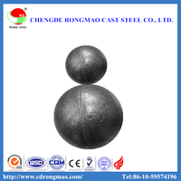Wear Resistant Cast Steel Iron Ore Grinding Ball Mill