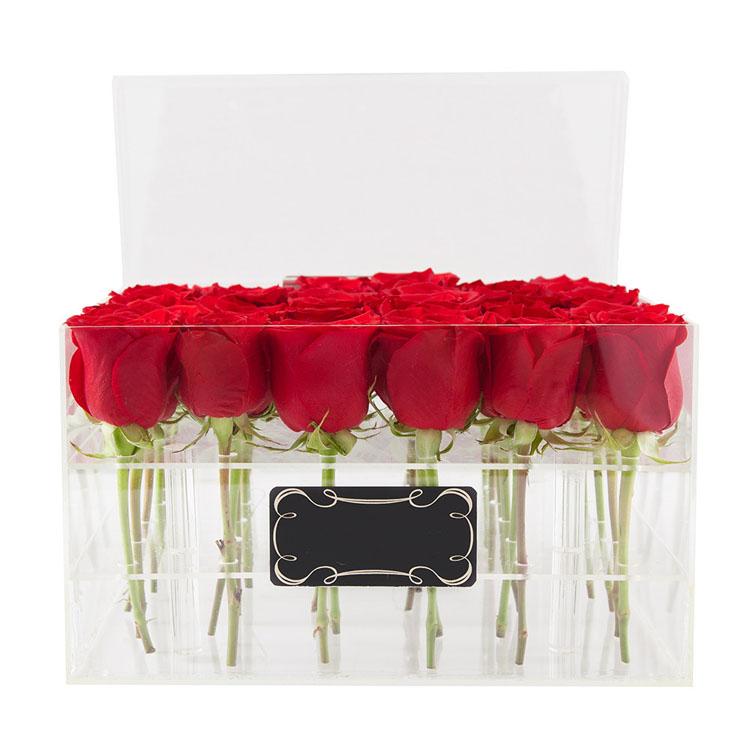 следует надевать прозрачная коробка сердце под цветы для