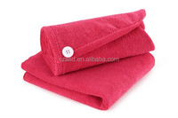 Quick dry hair cap with good quality hair towel