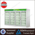 Hot Sale Vertical Showcase used supermarket refrigerator and freezer