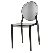 Color optional modern plastic Acrylic clear dining Chair
