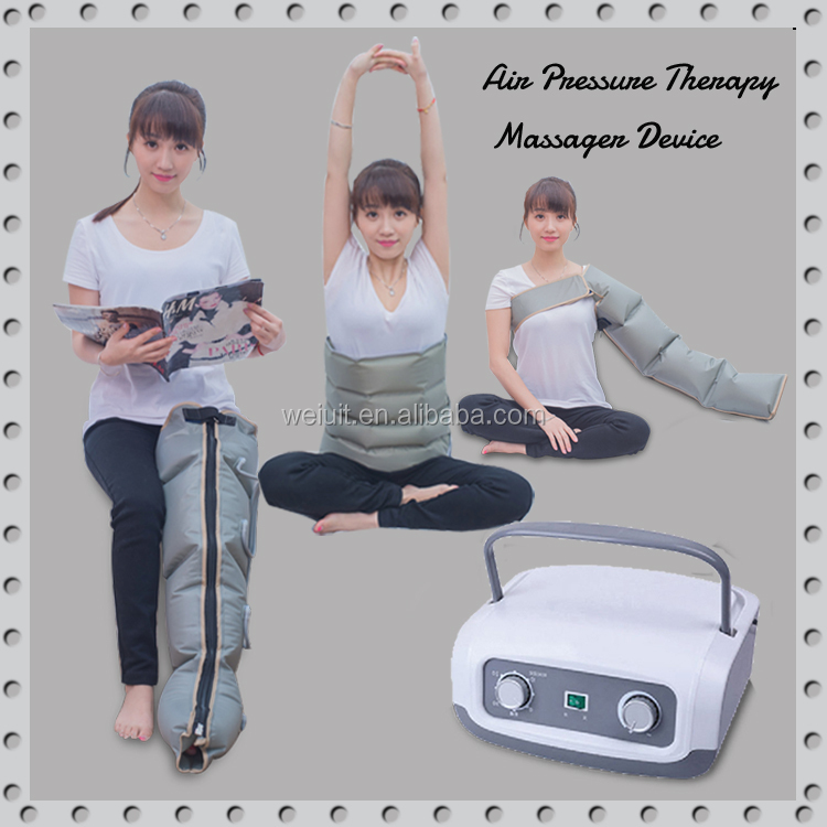 popular air pressure massage pressotherapy home use equipment with ce approvement
