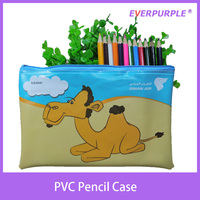 Custom printing plastic pencil case,PVC pencil case,pencil case with zipper