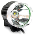 Night Ride Bike Alloy IP65 Metal Zoom Lens T6 LED Bicycle 1200LM Front Light