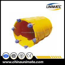 "on sell rotary rock core barrel with 8 1/2"" roller bit for piling rig"