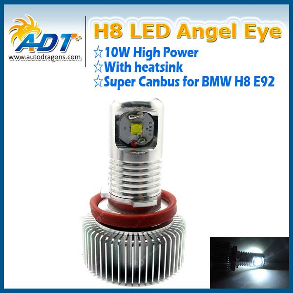 Best Selling LED Marker 10W E92/H8 E46 E36 E39 LED Angel Eyes For Car F30
