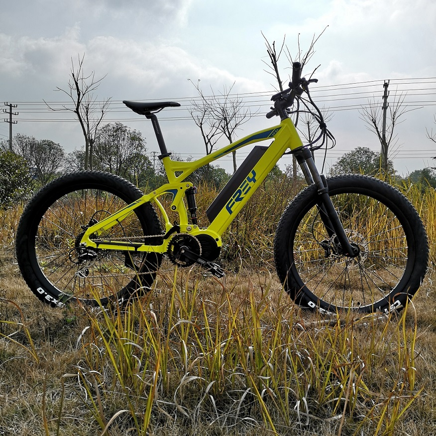 Wholesale Full Carbon Fibre Electric Mountainbike Full Suspension