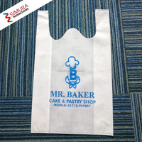 T Shirt Bag with Nonwoven for Grocery