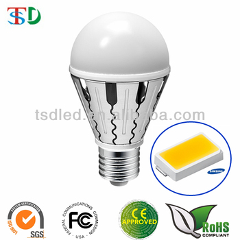 CE Approved SMD 5630 Samsung E27 LED Bulb 5W