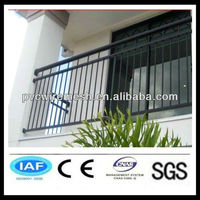 Galvanized Tubular Steel Fence Residential Fencing