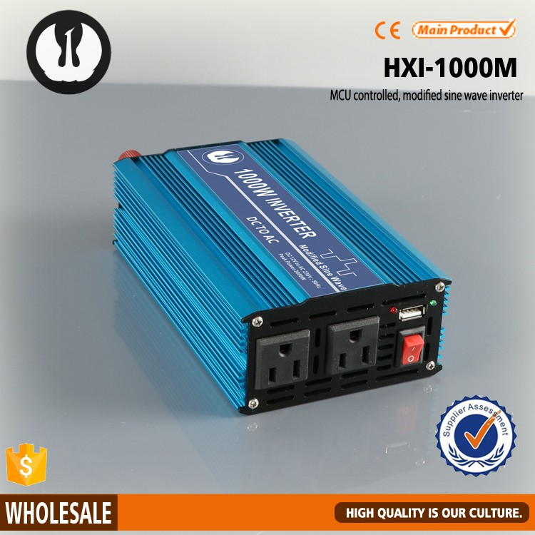 panel car ac dc to ac power inverter 1000v with USB