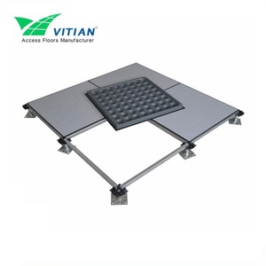 Bare steel an-static access oa panel(raised flooring)