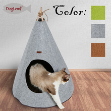 Foldable Good quality Dog Cat Cave House cat teepee tent bed for sale