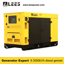 WUXI LEES POWER portable 30KW/40KVA diesel generator for price powered by YTO
