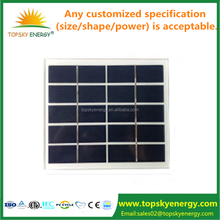Facory directly sell 110*110mm 1.0w 1.1w 1.2w 4.5v 4.6v 4.7v 4.8v 4.9v 5.0v low price mini solar panel for backpack