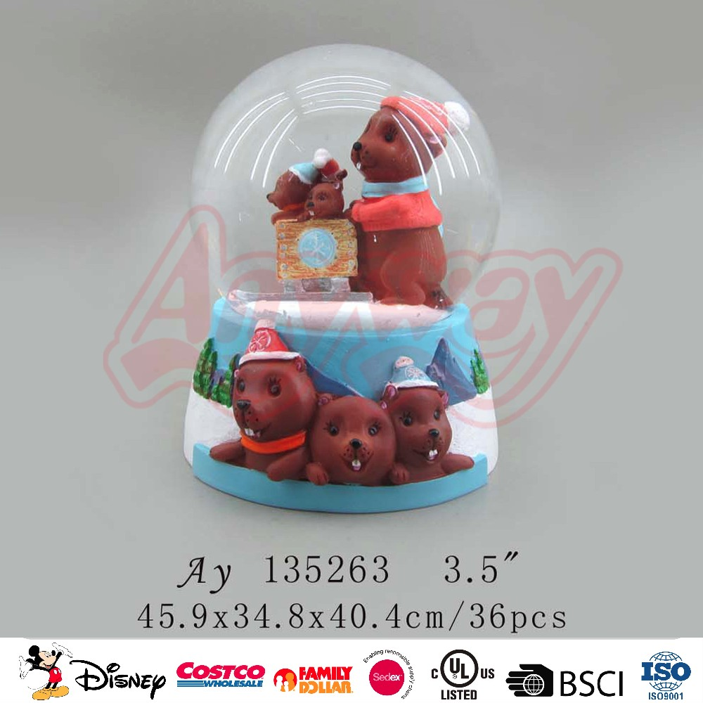 Multifunctional snowman and animal snow globe with great price
