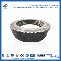 External-toothed slewing ring / combined ball/roller /single-row