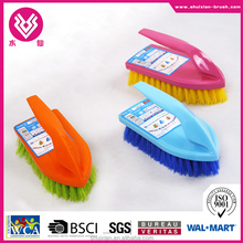 plastic floor cleaning brush clothes washing brush with long handle