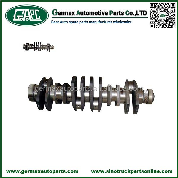 Guangzhou Exporters 61200020024 Crankshaft for Sinotruk Weichai WD615 Lorry Spare Parts