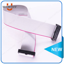 UL approved electrical 16 pin IDC connector flat ribbon cable 2.54mm pitch idc flat cable
