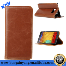 Leather Magnet Wallet Flip Case For Galaxy Note 5