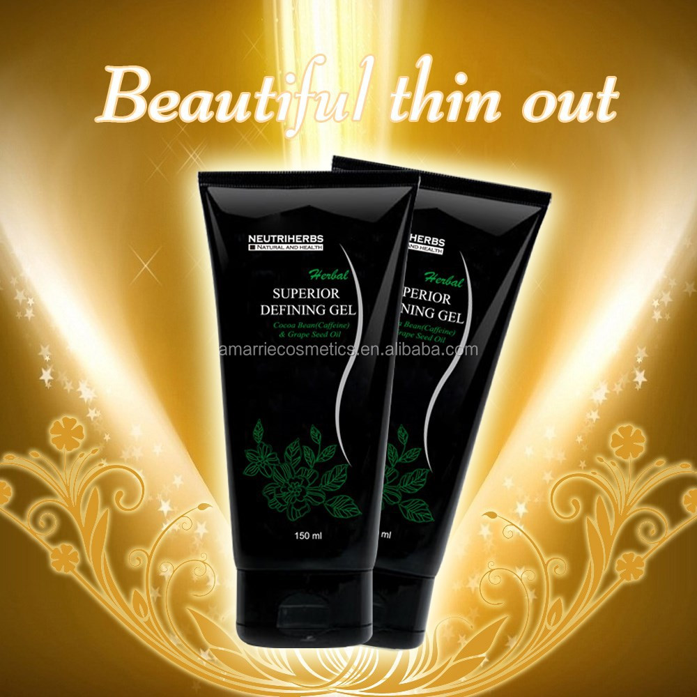 2015 New Launch Works for Anti-cellulite Defining Gel and Cool Super Gel Detoxing Body Firming Slim Gel