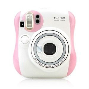 Fuji film Instax mini Camera instant Polaroid mini 25s Pink Limited edition