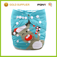 2016 Printed Halloween Festival Modern Pocket Diaper Cloth,Washable and Reusable ,One Size Sleep Diapers Wholesale China