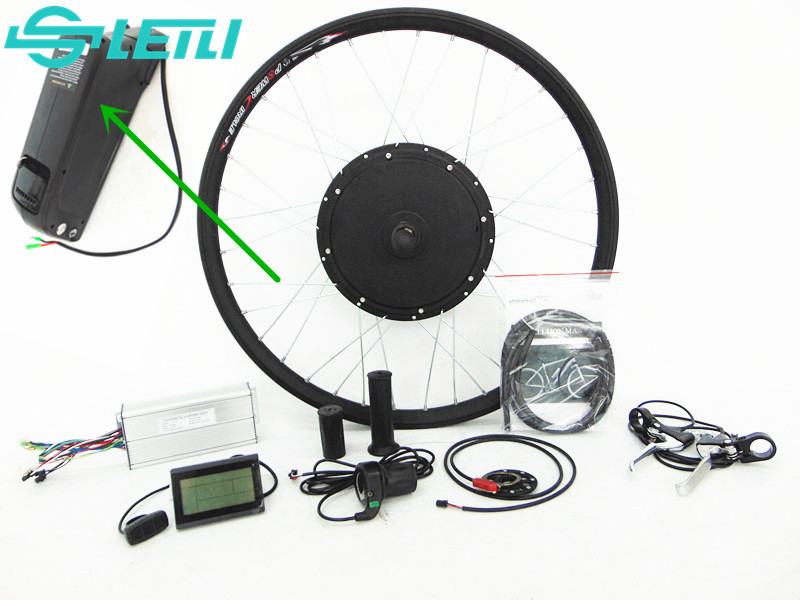 front wheel 48v 1000w Electric Battery powered bicycle motor conversion kit ,26""
