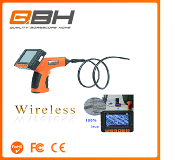Wireless inspection camera with waterproof chimney inspection camera wireless underwater camera pipe inspection camera