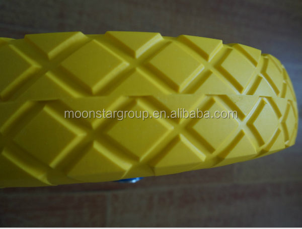 pu wheel for wheelbarrow 4.80/4.00-8 pu foam wheel