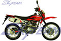 SKYTEAM 125cc 4 stroke on road Motorcycle (EEC Approval)