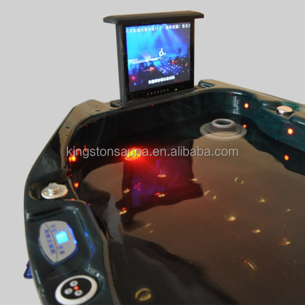 traditional hot tub JCS-21 with LED TV