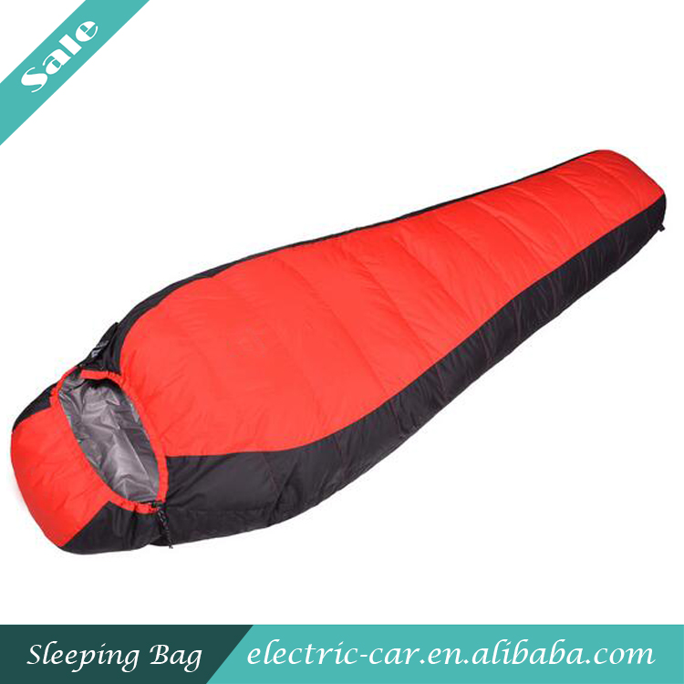 High Quality Adult Outdoor Duck Down Mummy Sleeping Bag