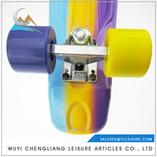 "Widely Used Hot Sales 60*45 mm PU 78A cruiser wheels 3.125""Aluminum longboard skateboards for sale"