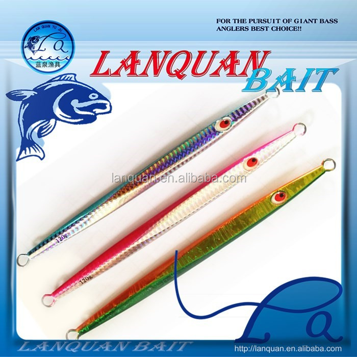 LANQUAN lead metal jigging fishing lure LQL1322