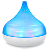 HA-03L PC+ABS material electrical ultrasonic aroma humidifier with 15 colorful LED lights