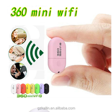 360 mini wifi and usb router wireless phone wifi receiver