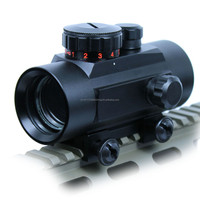 M1 Tactical 1X30 Green / Red Dot Sight 5 MOA Reticle Scope w/ 20mm Rail Mount Airsoft Hunting