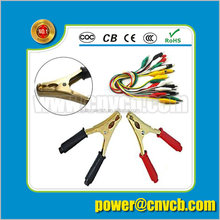 Five-wire Alligator Clips test leads/Mini Crocodile clips/colorful clip test leads