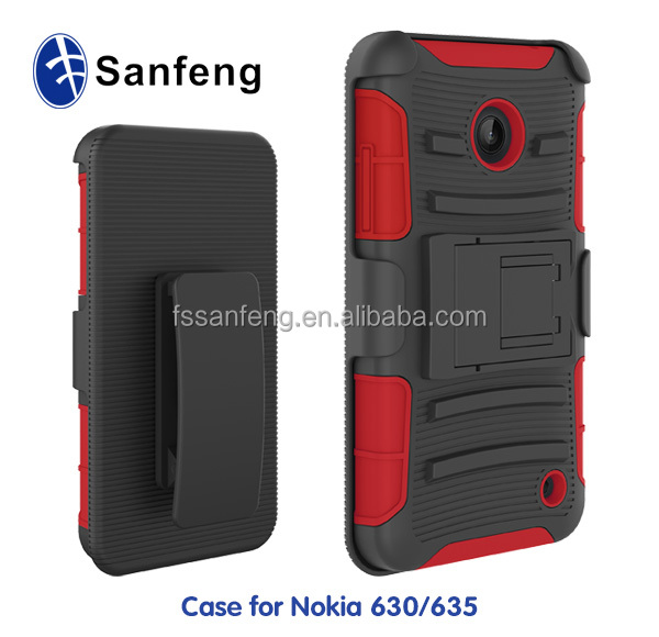 Useful mobile cover for Nokia lumia 630 case/useful cellphone case for Nokia 630 hybrid case/for Nokia 630 shockproof case