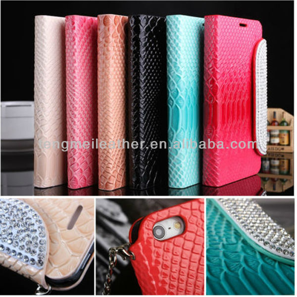 One Direction Phone Case For iPhone 5c,Crystal Diamond Wallet Flip Leather Chain Handbag Case Cover For iPhone5S 5C